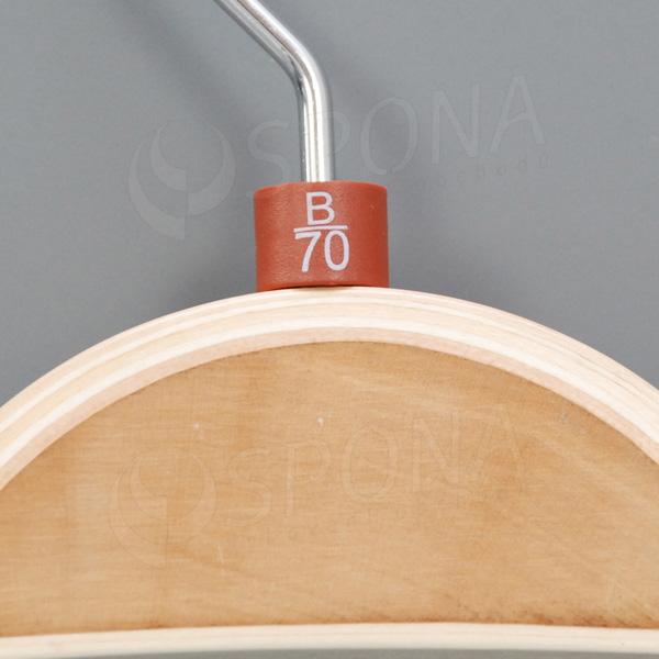 Minireitery podprsenkové, B/70, 25 ks, hnedé