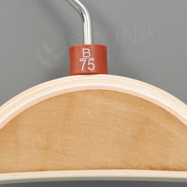 Minireitery podprsenkové, B/75, 25 ks, hnedé