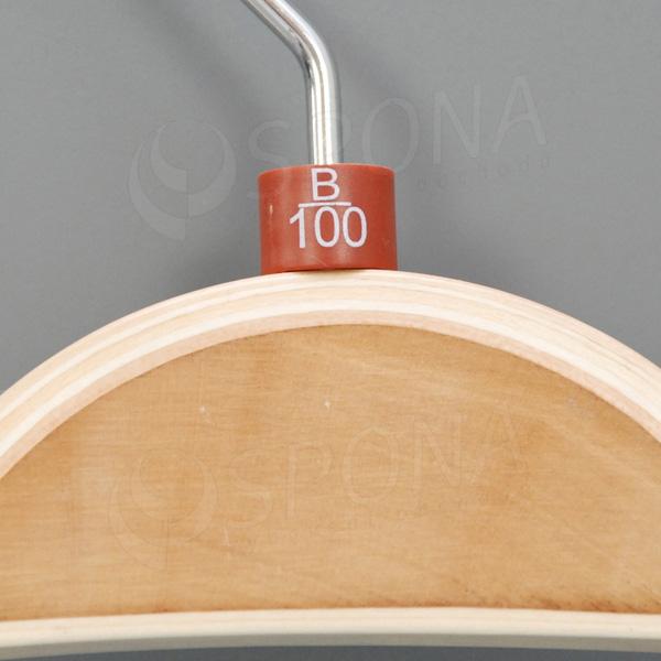 Minireitery podprsenkové, B/100, 25 ks, hnedé