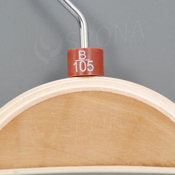 Minireitery podprsenkové, B/105, 25 ks, hnedé