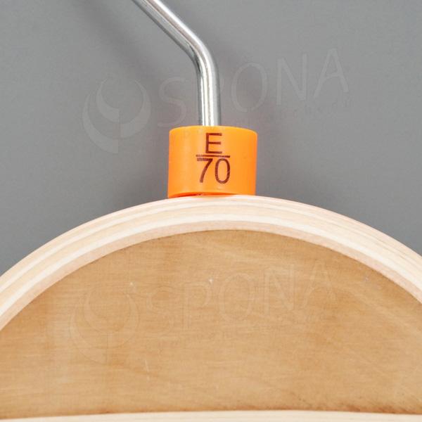 Minireitery podprsenkové, E/70, 25 ks, oranžové