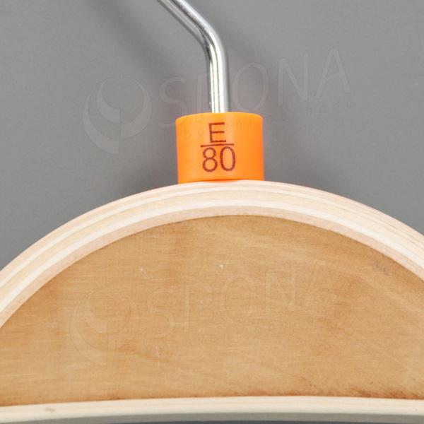 Minireitery podprsenkové, E/80, 25 ks, oranžové
