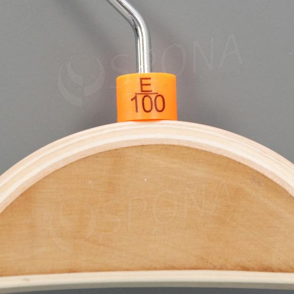 Minireitery podprsenkové, E/100, 25 ks, oranžové