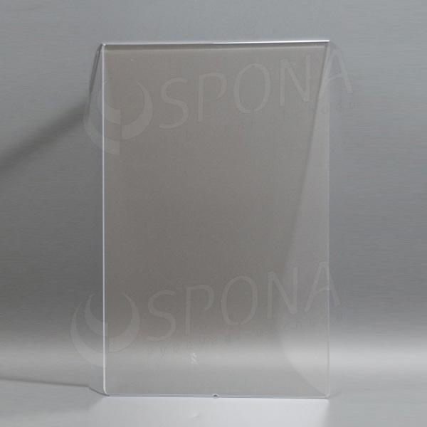 Plexisklová kapsa A4 výška, 210 x 297 mm