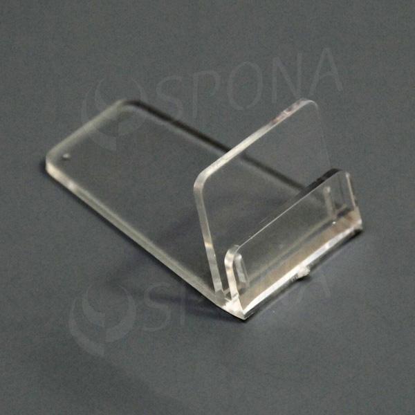 Stojanček C, transparentný
