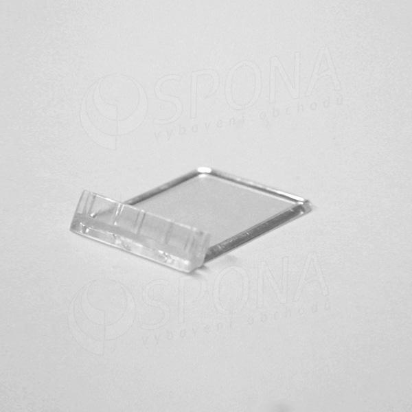 Stojanček C-5, 33 x 45 mm, transparentný