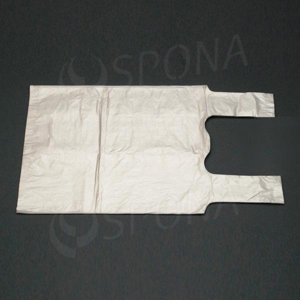 Taška 5 kg HDPE, transparentná, 22 + 12 x 46 cm, 100 ks