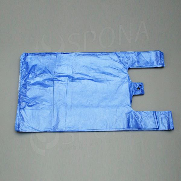Taška 10 kg HDPE, modrá, 30 + 16 x 50 cm, 100 ks