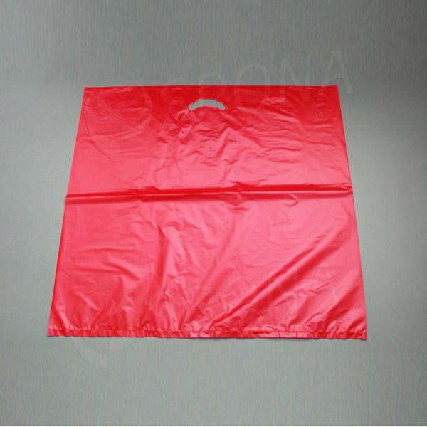 Igelitová taška MDPE, 60 x 60 cm, červená