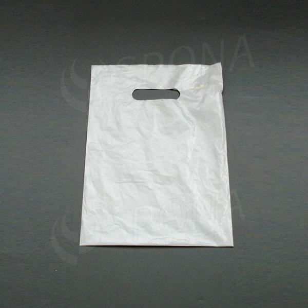 Igelitová taška LDPE, 25 x 35 cm, biela