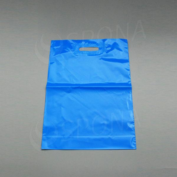 Igelitová taška LDPE, 35 x 50 + 5 cm, svetlo modrá