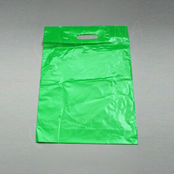 Taška LDPE 35 x 50 + 5 cm, zelená
