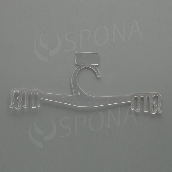 Plastový vešiak na spodnú bielizeň WBO 14, 22 cm