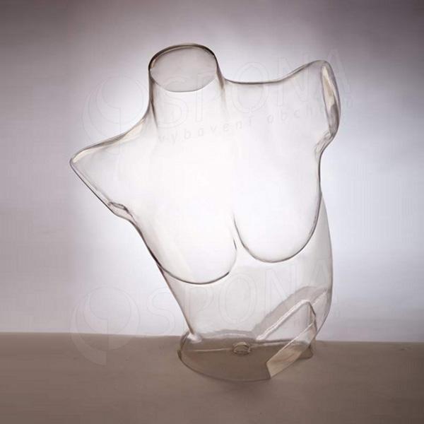 Torzo dámske EKO, transparentné