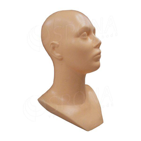 Hlava DITA plastová, farba telová