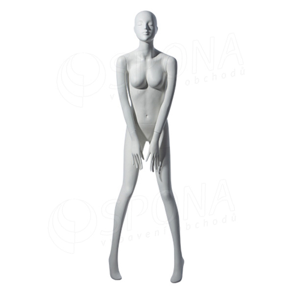 Figurína dámska TINA 305, matná biela