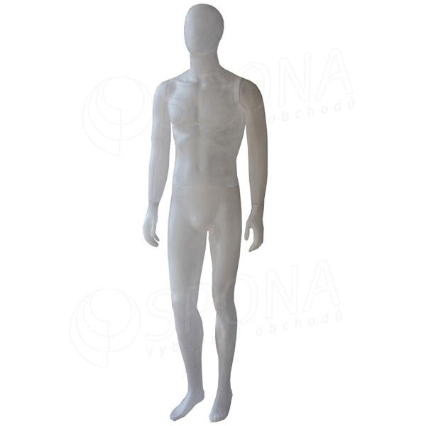 Figurína pánska pieskovaná EKO 01, polykarbonát