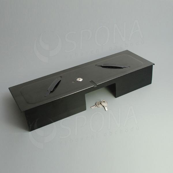 Pokladničný kryt pre insert FLIP TOP, kov