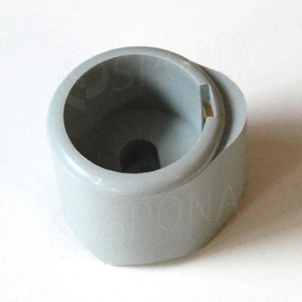 ALKAFIX plastová koncovka pre priemer 38 mm, šedá