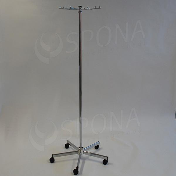 Štender na kravaty a opasky, výška 110-200 cm