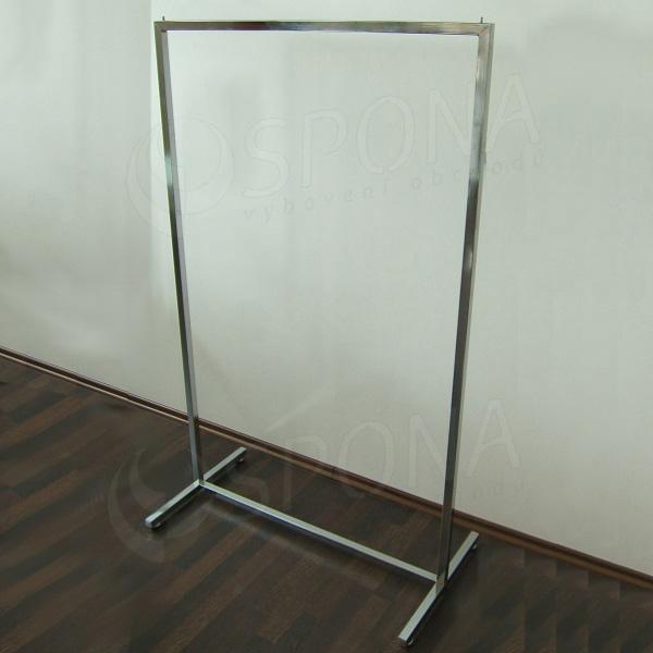 Štender BANKO 120 cm, pevný, chróm