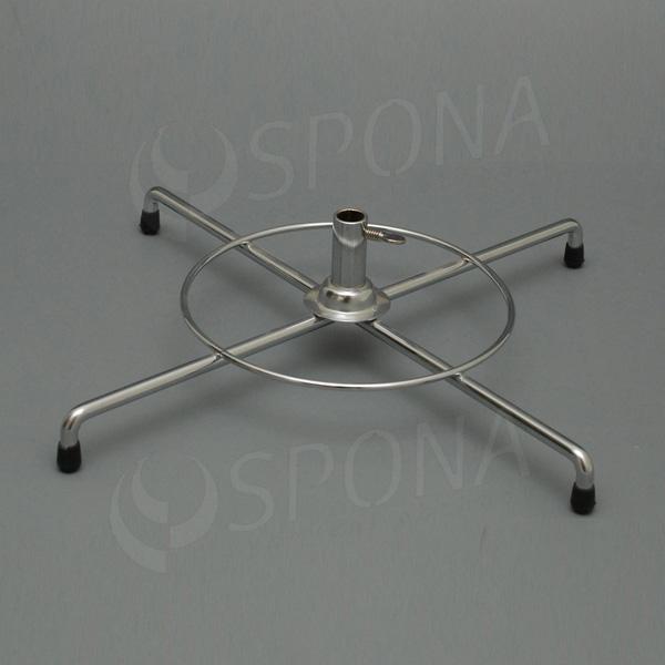 Stojanček na stôl - kríž veľký 350 mm, chróm