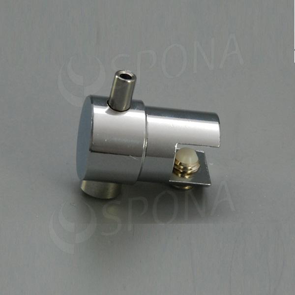 WIRE úchyt poličky otočný jednostranný pre lanko 1, 5 - 2, 0 mm, chróm