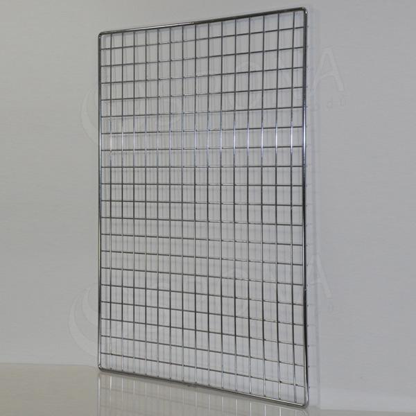 SIEŤ 5 mreža1, 100 x 80 cm, chróm