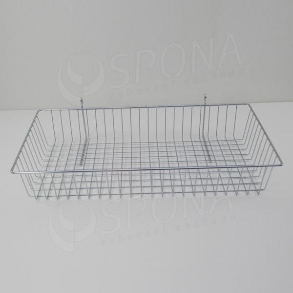 SIEŤ 5 kôš drôtený 600 x 300 x 100 mm, chróm