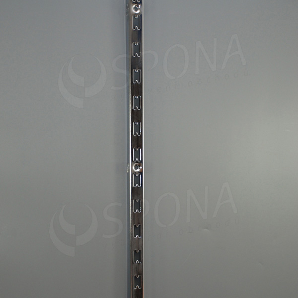 VARIANT stojina na stenu motýľ 25 x 30 mm, 2400 mm, chróm