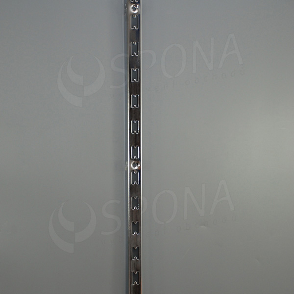 VARIANT stojina na stenu motýľ 25 x 30 mm, 3000 mm, chróm