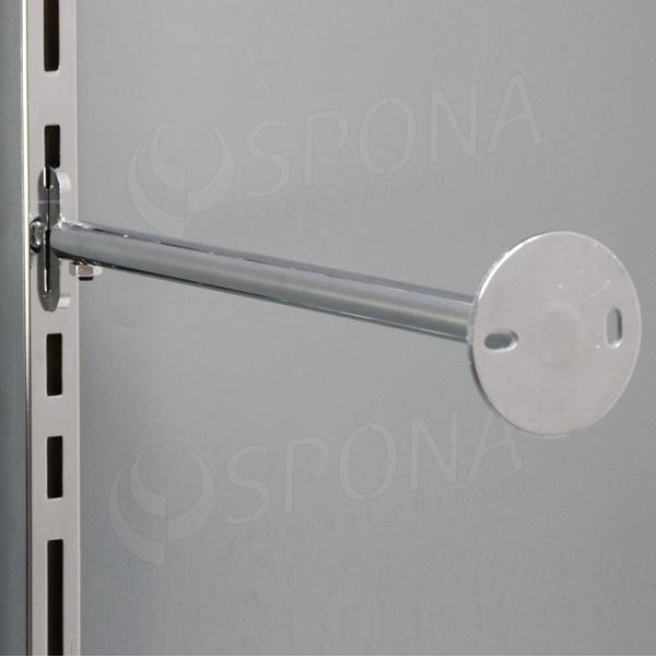 VARIANT držiak stojiny na stenu, 400-600 mm, chróm