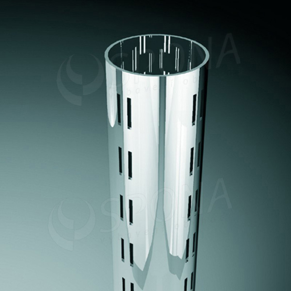 ROTO stojna priemer 60 mm, 2373 mm, 4 x 4 mm, chróm