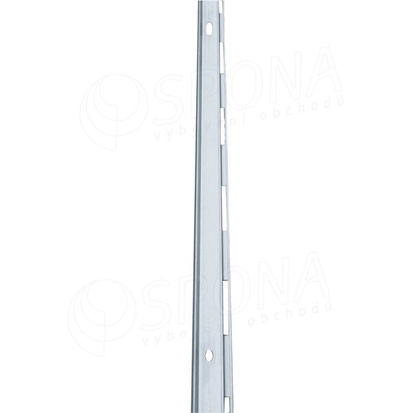 ALIAS stojina mono L s perom na stenu, 2400 mm, alu