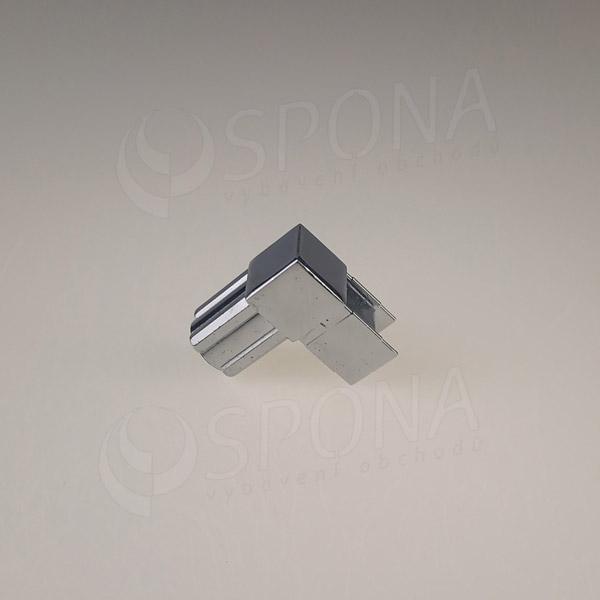 PRIMO 20 spojka dvojcestná L, chróm