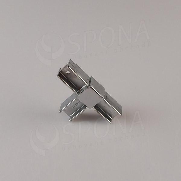 PRIMO 20 spojka trojcestná T, chróm