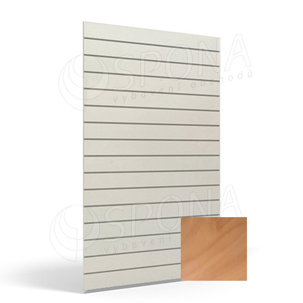 SLAT panel ART 120 x 240 cm, 10, bez insertov, orech (noce)