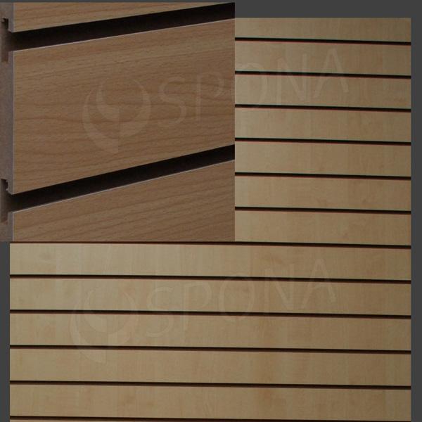 SLAT DREAM panel 120, 5 x 122 cm, 10, bez insertov, buk (beech)