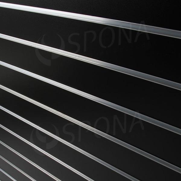 SLAT DREAM panel 120,5 x 122 cm, 15, bez insertov, čierny (black)