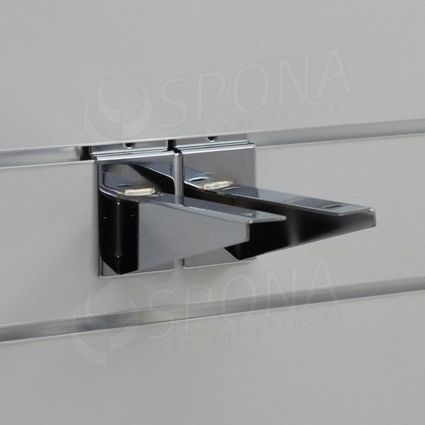 SLAT konzola koncová 150 mm, pár, chróm