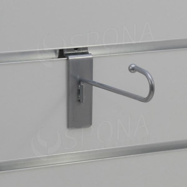 SLAT háčik J 130 mm, šedý
