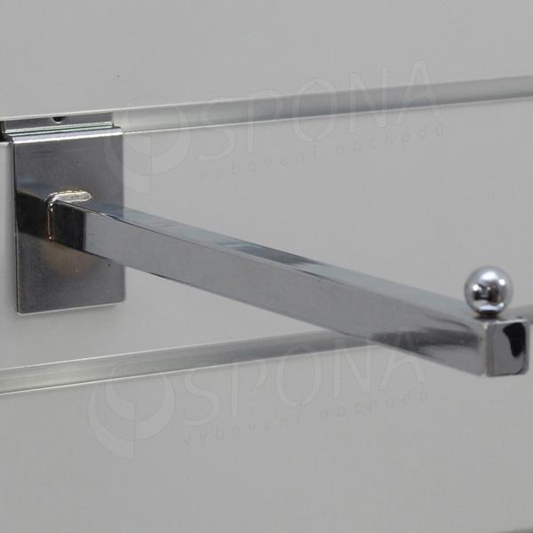 SLAT rovné rameno PROMO 300 mm, chróm