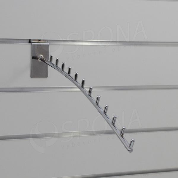 SLAT vodopád TRIUMF 12 kolíčkov, 420 mm, chróm