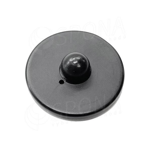 Bezpečnostná etiketa 8,2 MHz, ROUND 54 mm, plast, čierna