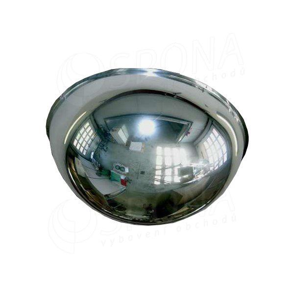 Zrkadlo kontrolné 600/360 mm, pologuľa