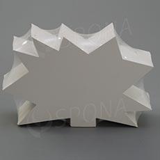 Visačky DREAMER Ježko 120 x 80, biele, 90 ks