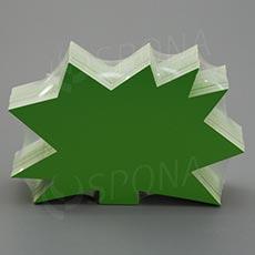 Visačky DREAMER Ježko 120 x 80, zelené, 90 ks