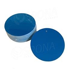 Visačky DREAMER Kruh 80 mm, modré, 80 ks