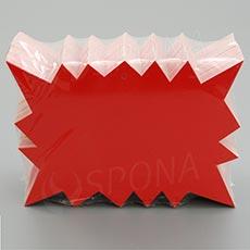Visačky DREAMER REBEL 120 x 88, červené, 90 ks