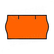 Etikety do kliešti, CONTACT 22 x 12, oranžové